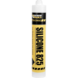 Everbuild Silicone 825 - 380ml Anthracite