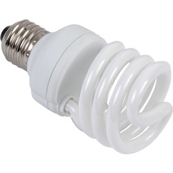 Sylvania Sylvania Energy Saving CFL Spiral T2 Lamp 9W SES 450lm - 88096 - from Toolstation