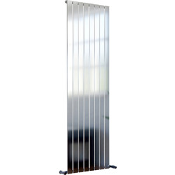 Ximax Ximax Oxford Single Designer Radiator 1800 x 550mm 3638Btu Chrome - 88103 - from Toolstation