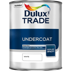 Dulux Trade Dulux Trade Undercoat Paint White 1L - 88170 - from Toolstation
