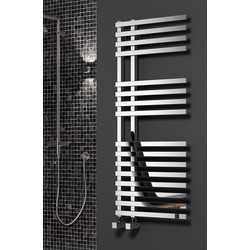Reina Felino Towel Radiator 775 x 500mm 1918Btu - 88183 - from Toolstation