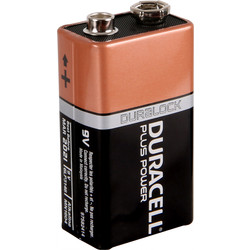 Duracell Duracell Plus Power Battery 9V - 88204 - from Toolstation