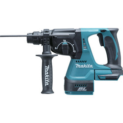 Makita Makita 18V LXT DHR242Z Brushless SDS+ Cordless Rotary Hammer Drill Body Only - 88208 - from Toolstation