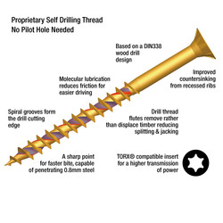 ForgeFast Timber Fixing Screw