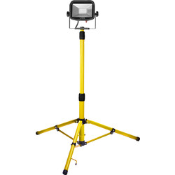 Luceco Luceco 110V Single Head Tripod Work Light 22W - 88271 - from Toolstation