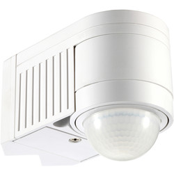 Zinc 360° Corner Mount PIR Sensor White - 88283 - from Toolstation