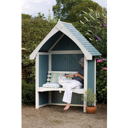 Forest Forest Garden Limoge Arbour 229cm (h) x 172cm (w) x 87cm (d) - 88285 - from Toolstation