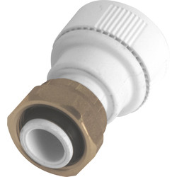Unbranded Tap Connector 22mm Straight - 88440 - from Toolstation