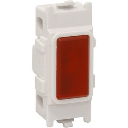 Grid Neon Indicator Lamp Red - 88444 - from Toolstation