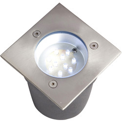 Square Deck / Ceiling Light IP67 1x 10 LED Blue - 88464 - from Toolstation