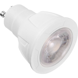 Meridian Lighting LED COB 5W Dimmable GU10 Lamp Warm White 360lm A+ - 88482 - from Toolstation