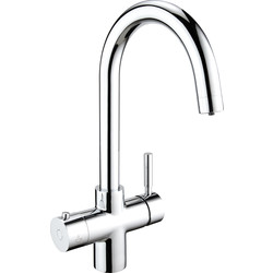 Deva Deva Vision Boiling Water Tap 3-in-1 Swan Neck - 88517 - from Toolstation