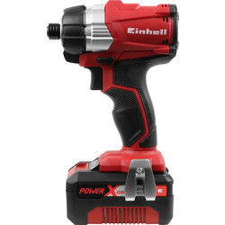 Einhell Einhell Power X-Change 18V Li-Ion Cordless Brushless Impact Driver 1 x 4.0Ah - 88549 - from Toolstation