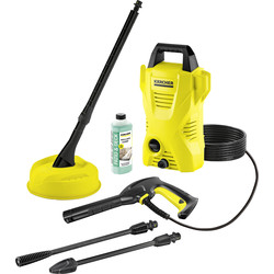 Karcher Karcher K2 Compact Pressure Washer and Patio Cleaner 240V 110 bar - 88614 - from Toolstation