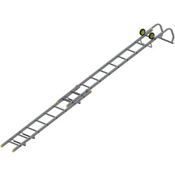 Youngman Roof Ladder 2 Section, Open Length 7.13m