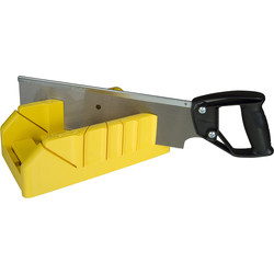 Stanley Stanley Saw Storage Mitre Box With Saw  - 88687 - from Toolstation