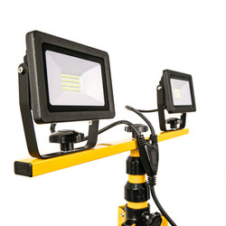LED Twin Tripod Work Light IP65 240V