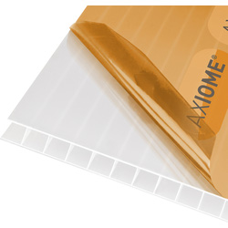 Axiome Axiome 10mm Polycarbonate Opal Twinwall Sheet 690 x 3000mm - 88871 - from Toolstation