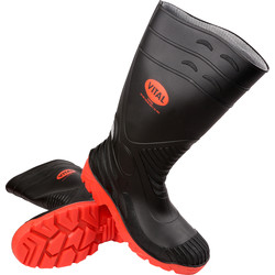 Vital X Titan Safety Wellington Boots Size 10 - 88909 - from Toolstation
