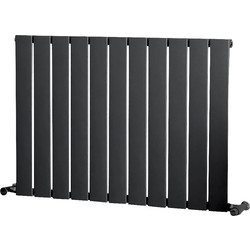 Ximax Ximax Oxford Single Designer Radiator 600 x 820mm 1952Btu Anthracite - 88921 - from Toolstation