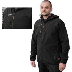 Scruffs Scruffs Worker Softshell Jacket Small - 88938 - from Toolstation
