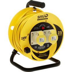 Extension Reel 110V 25m - 88966 - from Toolstation