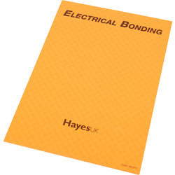 Report Pads Electric Bonding