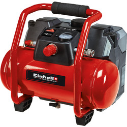 Einhell Einhell PXC TE-AC 36/6/8 6L 36V (2x18V) Oil Free Air Compressor Body Only - 89140 - from Toolstation