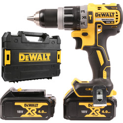 DeWalt DeWalt DCD796M2-GB 18V Li-Ion Brushless Combi Drill 2 x 4.0Ah - 89165 - from Toolstation