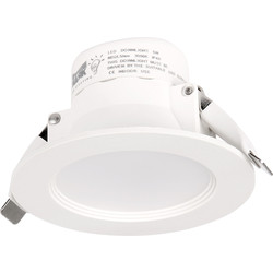 Mark Lighting Mark Lighting LED 5W Fixed Dimmable Downlight IP44 Warm White 440lm - 89186 - from Toolstation