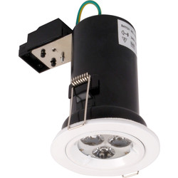 LED Fire Rated 5W High Power White 190lm - 89500 - from Toolstation