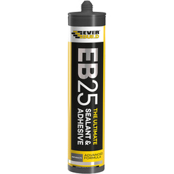 Everbuild EB25 The Ultimate Sealant & Adhesive 300ml Anthracite - 89519 - from Toolstation