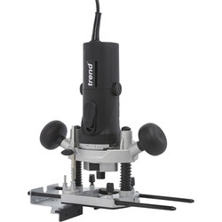 "Trend Trend T4 1/4"" Variable Speed Router 115V - 89531 - from Toolstation"