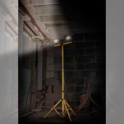 LED Twin Tripod Work Light IP65 110V
