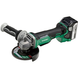 Hikoki Hikoki G18DBAL 18V Li-Ion Cordless Brushless 115mm Angle Grinder 2 x 5.0Ah - 89554 - from Toolstation