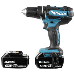 Makita Makita DHP482 18V Li-Ion LXT Cordless Combi Drill 2 x 4.0Ah - 89586 - from Toolstation