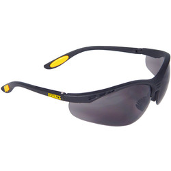 DeWalt DeWalt Reinforcer Safety Glasses Smoke - 89667 - from Toolstation