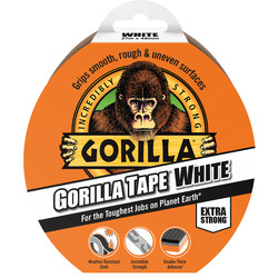 Gorilla Glue Gorilla Tape White 27m - 89678 - from Toolstation