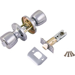 ERA ERA Door Knob Set Privacy Satin - 89706 - from Toolstation