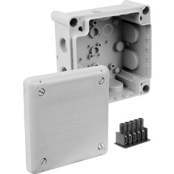 Junction Box IP66 102 x 102 x 56mm - 89709 - from Toolstation