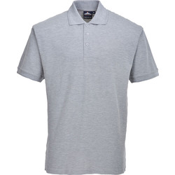 Portwest Polo Shirt Large Grey - 89785 - from Toolstation