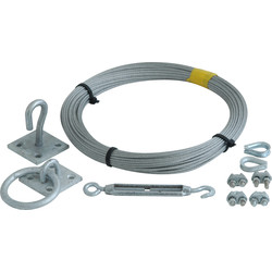 Unbranded Catenary Wire 30m - 89792 - from Toolstation