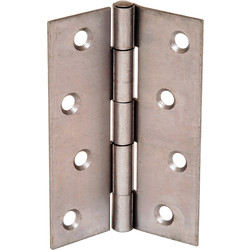 Steel Butt Hinge 100mm - 89913 - from Toolstation