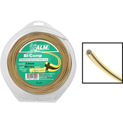 ALM ALM Universal Bi-Component Square Trimmer Line 80m x 2.4mm - 89932 - from Toolstation