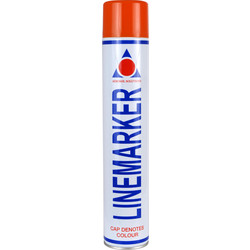 Line Marking Spray Paint 750ml Red - 89984 - from Toolstation