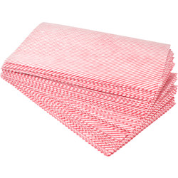Maxipro Cleaning Cloths Red - 90074 - from Toolstation