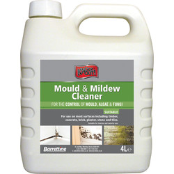 Barrettine Barrettine Mould & Mildew Cleaner 4L - 90095 - from Toolstation