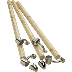 Richard Burbidge Richard Burbidge Fusion Handrail Kit Pine - 90150 - from Toolstation