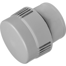 McAlpine McAlpine VP100N Air Admittance Valve Grey - 90200 - from Toolstation