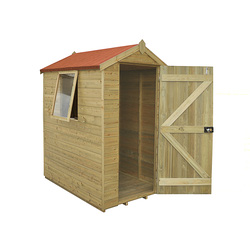 Forest Garden Tongue and Groove Pressure Treated Apex Shed